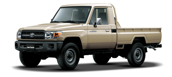 Land Cruiser Pick Up Beige Metálico