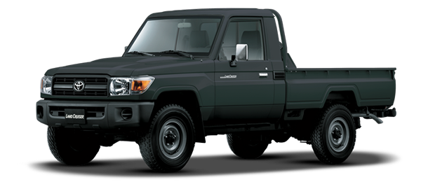 Land Cruiser Pick Up Gris Grafito