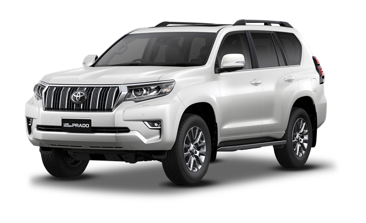 Land Cruiser Prado Blanco