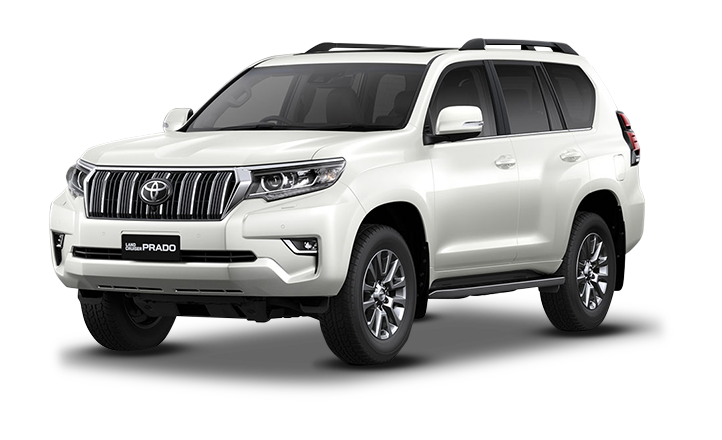 Land Cruiser Prado Blanco Perla