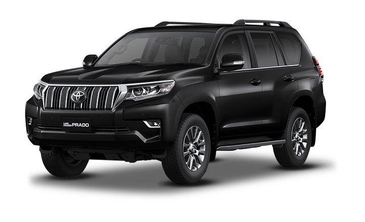 Land Cruiser Prado Negro